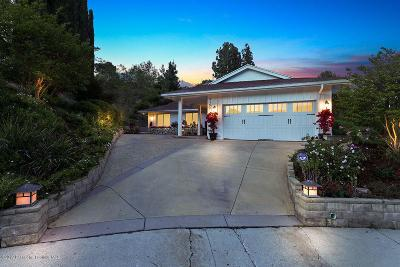 Tujunga Single Family Home For Sale: 9350 Skyview Terrace