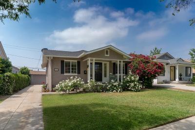 Pasadena Single Family Home For Sale: 3210 La Tierra Street