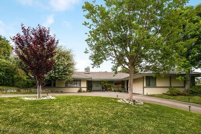 Arcadia Single Family Home Active Under Contract: 2024 Canyon Road