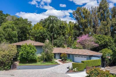 Pasadena Single Family Home For Sale: 547 Laguna Road