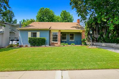 Pasadena Single Family Home For Sale: 1589 North Grand Oaks Avenue