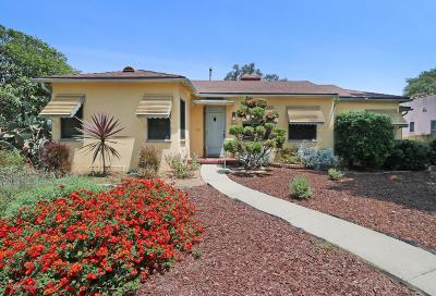 Alhambra Single Family Home For Sale: 704 North Curtis Avenue