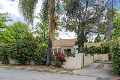 Altadena Single Family Home For Sale: 2040 Madison Avenue