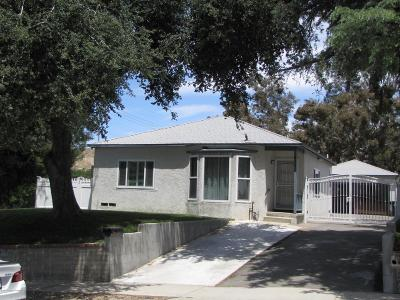 Sunland Single Family Home For Sale: 8561 Kyle Street