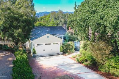 South Pasadena Single Family Home For Sale: 846 Lyndon Street