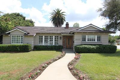 Pasadena Single Family Home For Sale: 2640 San Pasqual Street