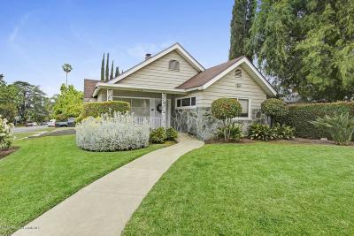 Pasadena Single Family Home For Sale: 1710 East Elizabeth Street