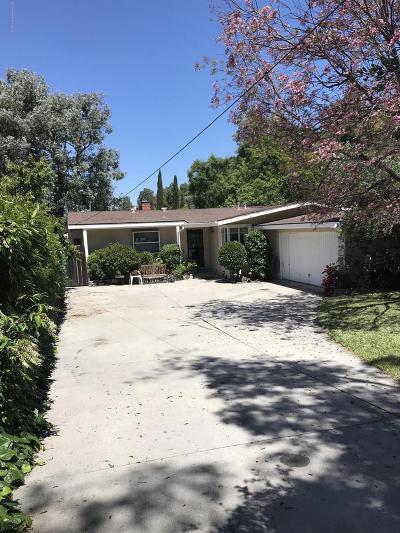 La Crescenta Single Family Home For Sale: 5023 Reynard Avenue