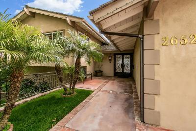 La Crescenta Single Family Home For Sale: 2652 Pinelawn Drive