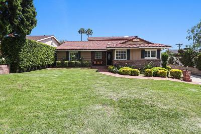 La Crescenta Single Family Home For Sale: 2416 Teasley Street
