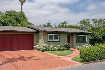 Pasadena Single Family Home Active Under Contract: 3731 Laurita Avenue