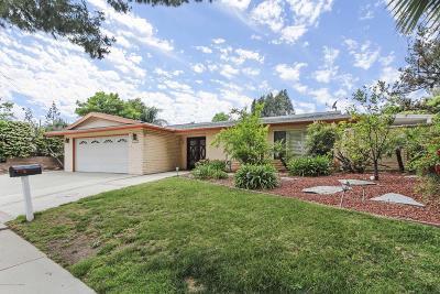 Granada Hills Single Family Home Active Under Contract: 11735 Andrew Avenue