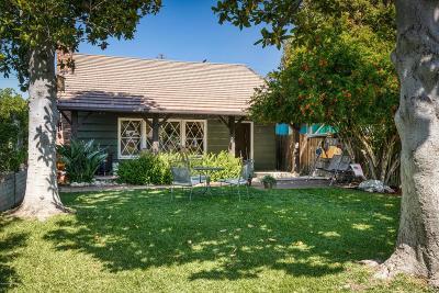 Azusa Single Family Home Active Under Contract: 1017 North Orange Avenue