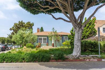 Santa Monica Single Family Home Active Under Contract: 2103 Hill Street