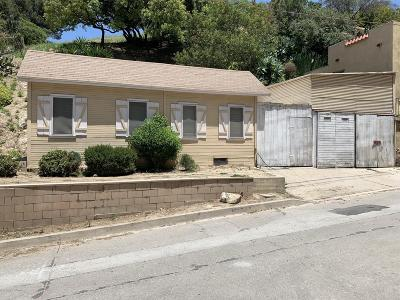 Los Angeles Single Family Home For Sale: 3537 The Paseo