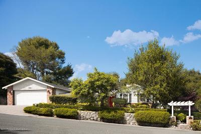 La Canada Flintridge Single Family Home Active Under Contract: 3684 Hampstead Road