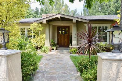 La Canada Flintridge Single Family Home For Sale: 5252 Pizzo Ranch Road