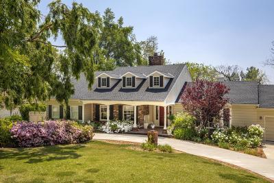 La Canada Flintridge Single Family Home For Sale: 840 Green Lane