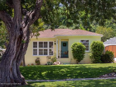 South Pasadena Single Family Home Active Under Contract: 2045 Maycrest Avenue