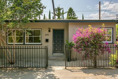 Pasadena Single Family Home Active Under Contract: 3110 Alameda Street