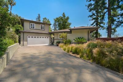 La Canada Flintridge Single Family Home For Sale: 1283 Journeys End Drive