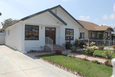 Los Angeles Single Family Home For Sale: 4505 Arlington Avenue