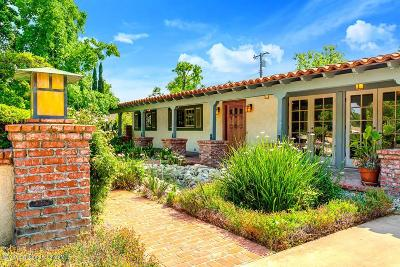 Sierra Madre Single Family Home Active Under Contract: 205 Olivera Lane