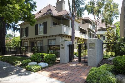 Pasadena Condo/Townhouse Active Under Contract: 80 South Grand Avenue