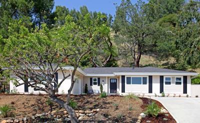 La Canada Flintridge Single Family Home For Sale: 5303 Crown Avenue