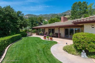 Altadena Single Family Home For Sale: 2855 Zane Grey Terrace