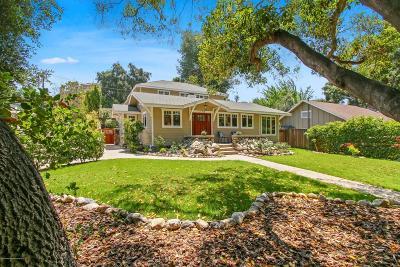 Pasadena Single Family Home For Sale: 130 South Arroyo Boulevard