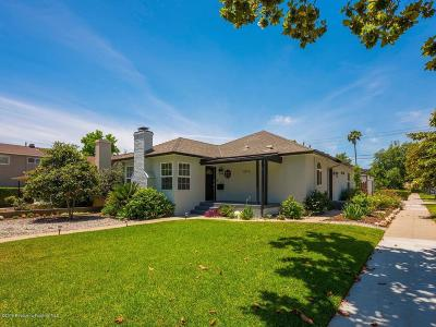 Pasadena Single Family Home For Sale: 1635 Kenneth Way