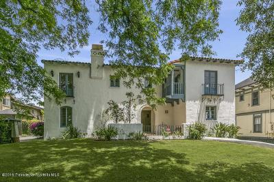 Pasadena Single Family Home For Sale: 414 North Raymond Avenue