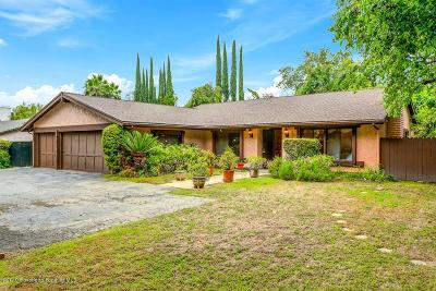 Pasadena Single Family Home For Sale: 2720 East California Boulevard