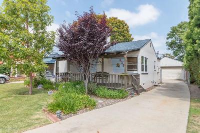 Glendale Single Family Home For Sale: 829 Grange Street