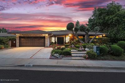 La Crescenta Single Family Home Active Under Contract: 2720 Timberlake Drive