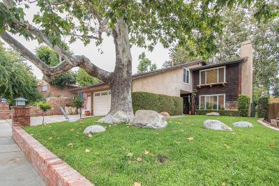 La Crescenta Single Family Home Active Under Contract: 3305 Park Vista Drive