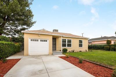 Duarte Single Family Home For Sale: 1847 Bradbury Avenue
