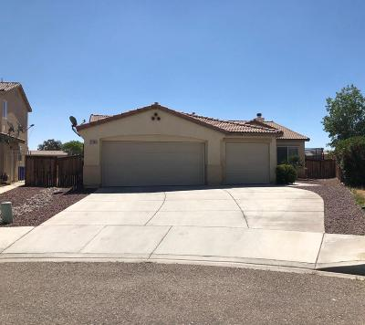 Adelanto Single Family Home Active Under Contract: 11089 Continental Court