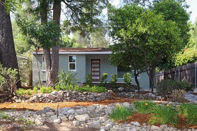 La Crescenta Single Family Home Active Under Contract: 2835 Harmony Place