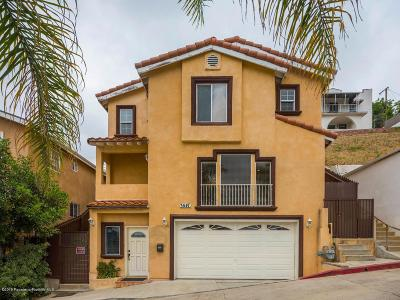 Los Angeles Single Family Home For Sale: 3547 Hillview Place