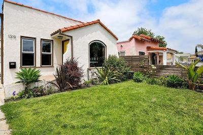 Los Angeles Single Family Home For Sale: 1319 West 103rd Street