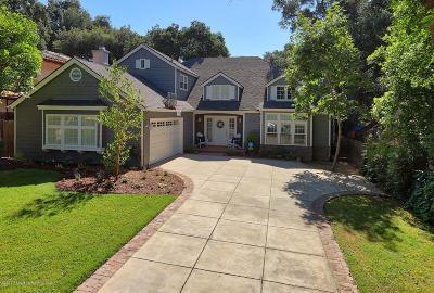 La Canada Flintridge Single Family Home For Sale: 4860 Del Monte Road