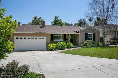Sierra Madre Single Family Home Active Under Contract: 512 East Sierra Madre Boulevard