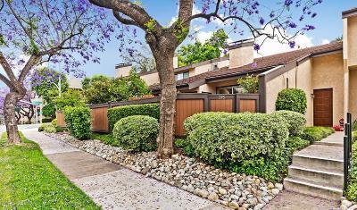 Pasadena Condo/Townhouse Active Under Contract: 215 East Del Mar Boulevard #8