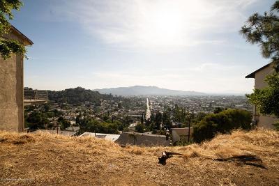 Glendale Residential Lots & Land For Sale: 1229 Vista Superba Street