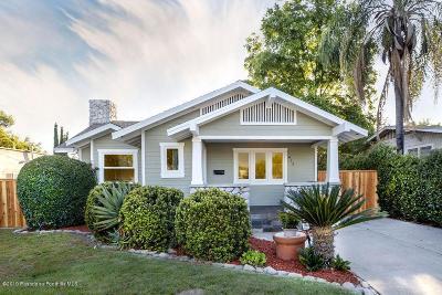 Pasadena Single Family Home For Sale