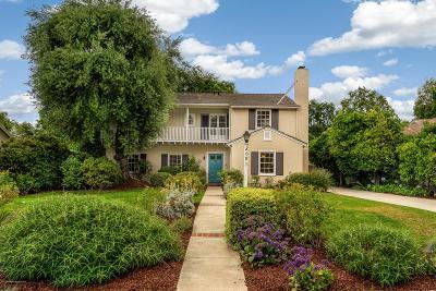 Altadena Single Family Home Active Under Contract: 2091 North Hill Avenue