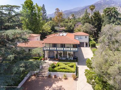Altadena Single Family Home Active Under Contract: 1955 Mendocino Lane