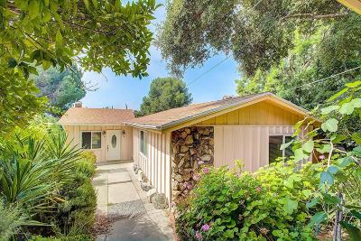 La Crescenta Single Family Home Active Under Contract: 2824 Frances Ave